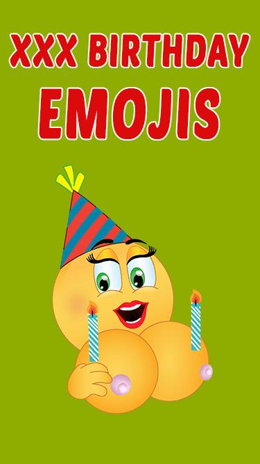 XXX Birthday Emojis APP