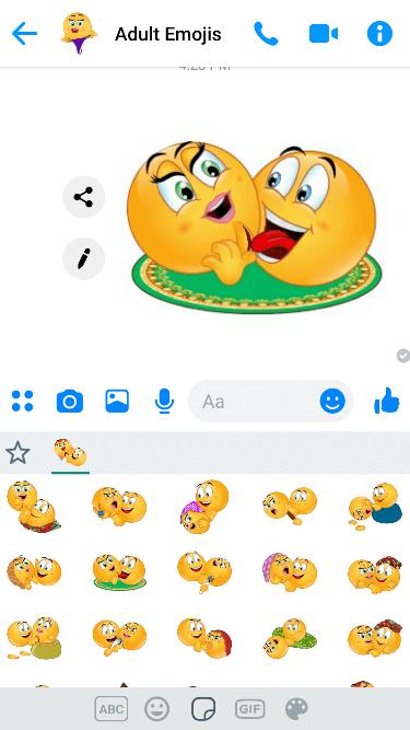 KamaSutra 2 Emoji Keyboard